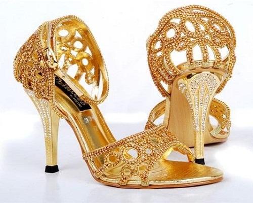Branded Bridal Sandals 9