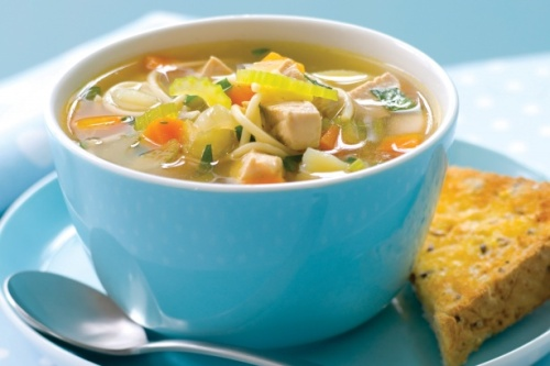 Chicken And Vegetable Soup With Pasta Healthy Food For Kids Recipes