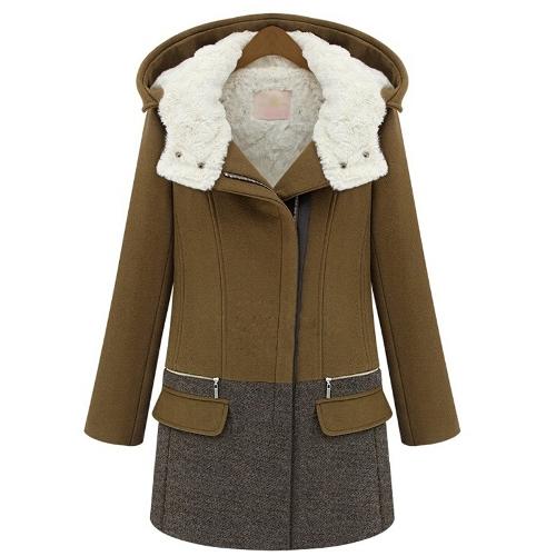Color Block Hooded Jacket 6