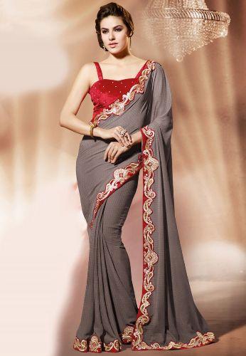 Cool Chiffon Designer Saree