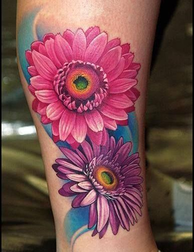 Daisy tattoos 8