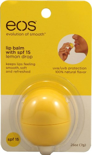Eos Lemon Drop balm