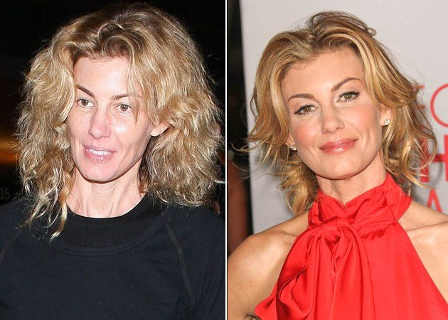 Faith Hill without makeup 2