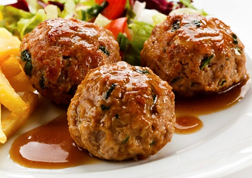 Recipes For Children's Food Meat Ball