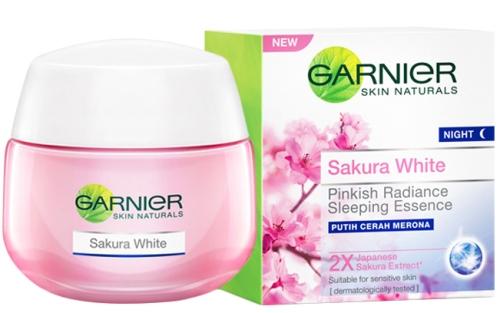 Garnier Sakura White Pink Radiance Moisturizing Cream SPF 21 PA+++ 50 Ml 2