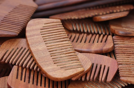 Give Time To Set Comb Your Hair