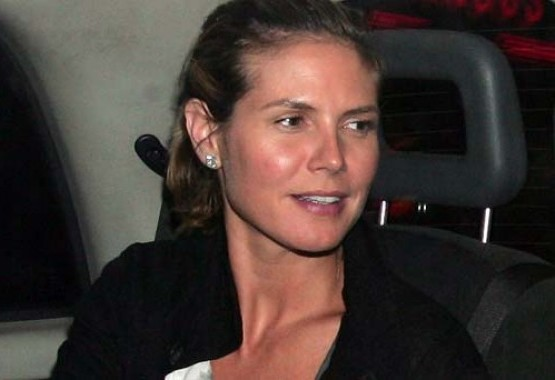 Heidi Klum without makeup 4