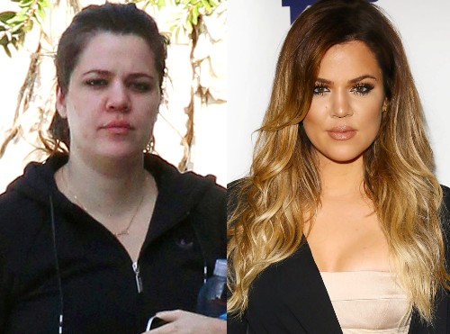12 recent pics of khloe kardashian without makeup styles at life