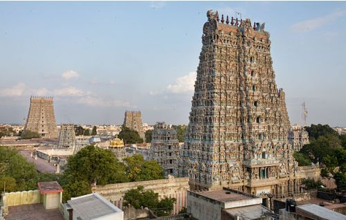 largest temples in india