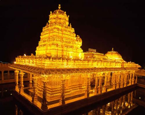 Sripuram Golden Temple In Vellore