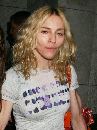 Madonna without makeup 1