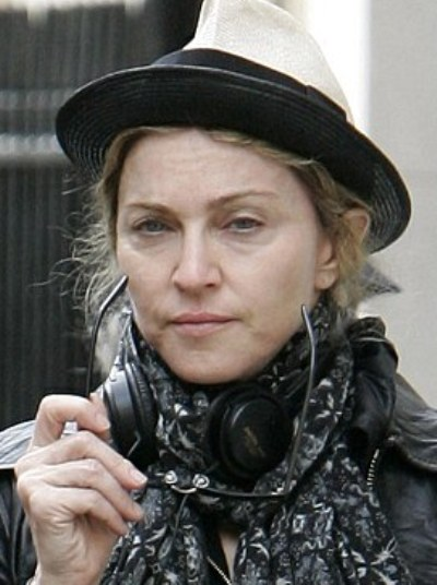 Madonna without makeup 2