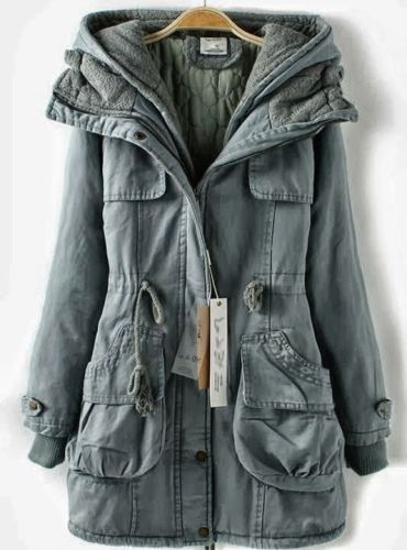 Navy Blue Casual Jackets 5