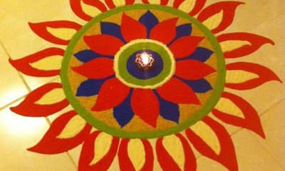 6 simple and unique rangoli designs to try styles at life