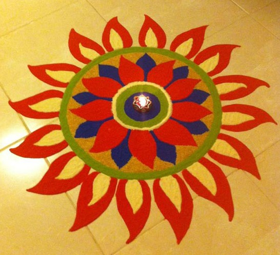 Rangoli for beginners