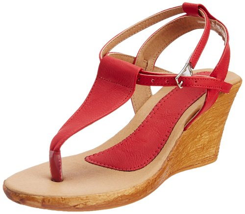 Luxury Taiyfab  Finn Comfort Womens Andros Sandals In Red