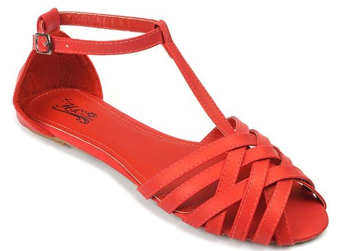 Red Sandals For Women 3