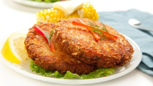 Food Recipes For Children Salmon And Corn Patty