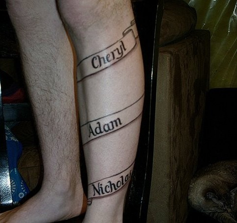 Scrolling Tattoos 1