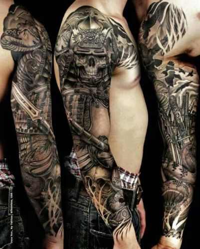 30 Best Full Sleeve Tattoo Designs And Ideas For Men 2018