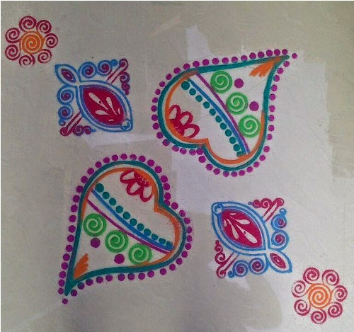 9 special rangoli designs for new year to welcome 2020 9 special rangoli designs for new year