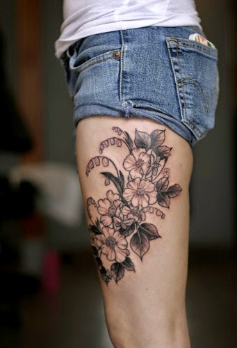 Thigh tattoos 1