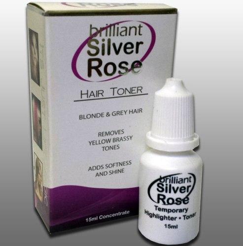 Hair Color Toner Brilliant Silver Rose Hair Toner