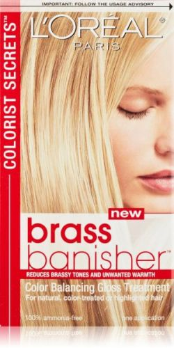 Best Toner For Hair Color L'Oreal Colorists Secrets Brass Banisher