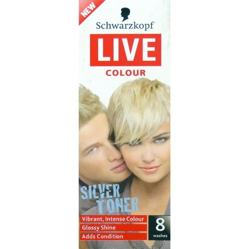 Toners For Colored Hair Schwarzkopf Live Color Silver Toner