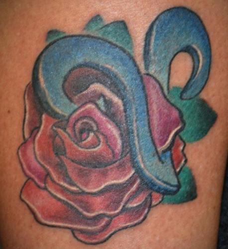 Virgo Tattoo Designs 7