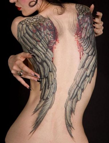 WingS Tattoo Designs 4