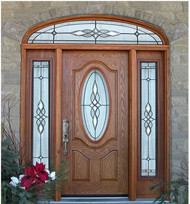 Wooden door designs 6