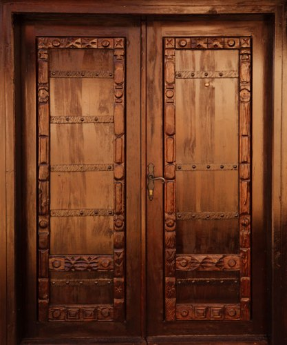 Wooden door designs 8