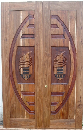 Get 39+ Wooden Door Design Double Palla