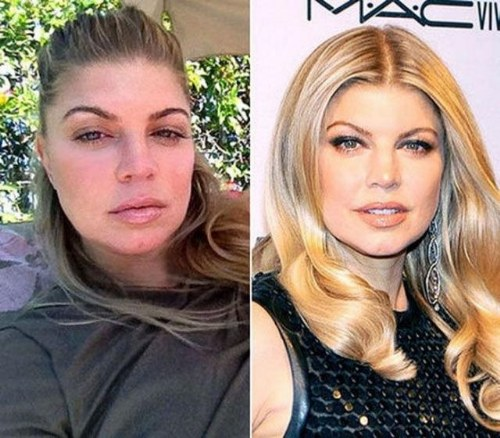 fergie without makeup 3