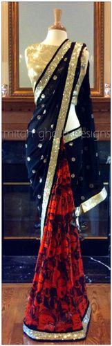 indian designer saree 10