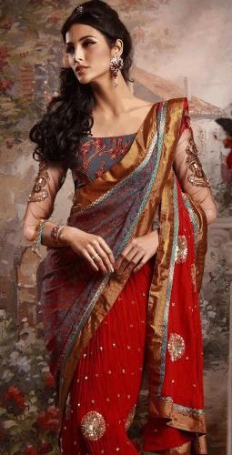 indian designer saree 13