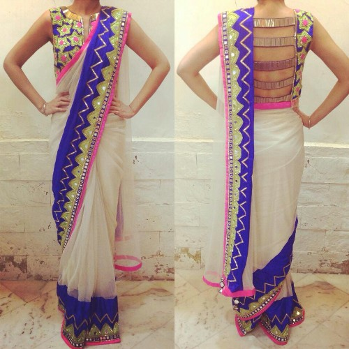 indian designer saree 15