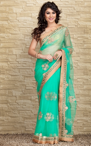 indian designer saree 9