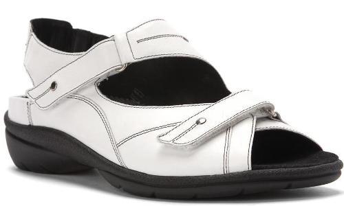 white Sandals 6