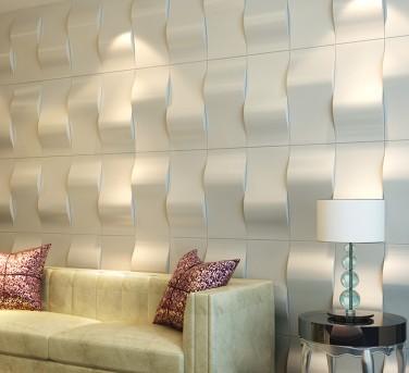 3-D pattern wall panels