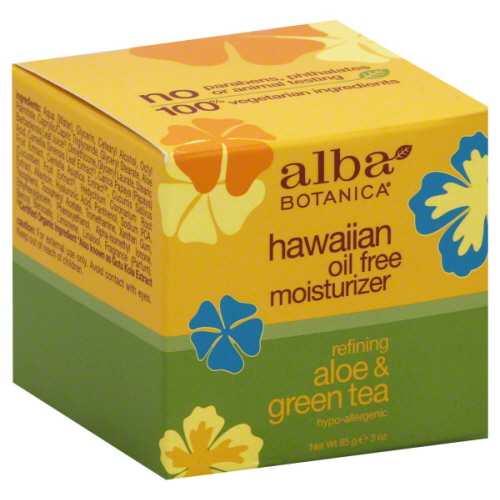 Alba aloe and green tea oil free moisturizer