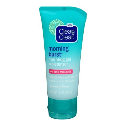 Clean and clear morning burst hydrating gel moisturizer