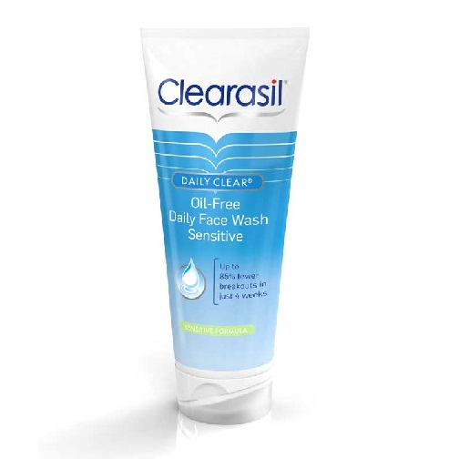 Clearasil Oil Free Daily Face Wash for Sensitive Skin