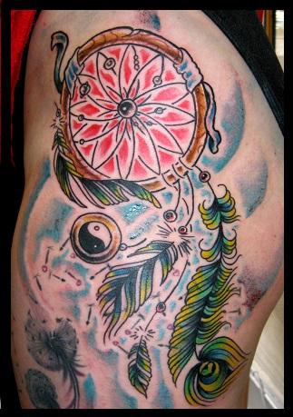 Dreamcatcher Tattoo Designs 5