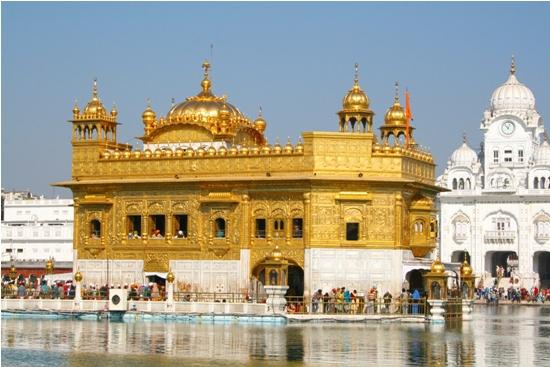 Gurdwara Harmandir Sahib in Punjab