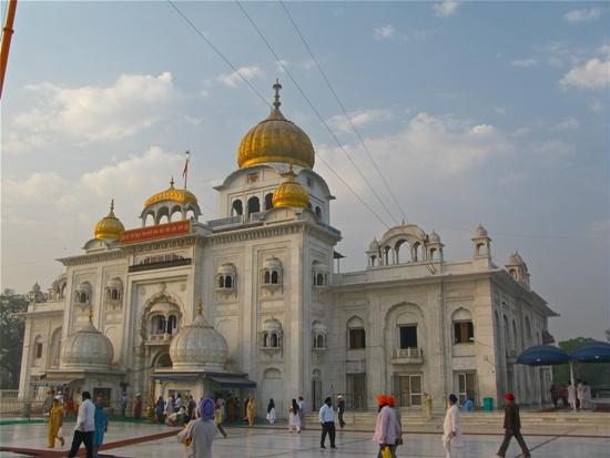 Gurudwara Bangla Sahib in New Delhi