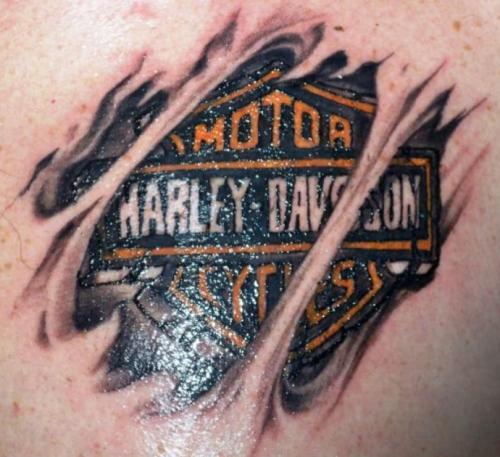 Harley Davidson tattoo 5