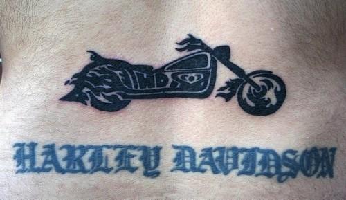Harley Davidson tattoo 7
