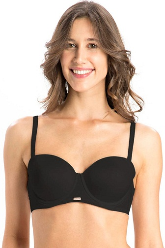 88ef958e6c Jockey Ultra Soft Microfiber Padded Underwired Strapless Bra